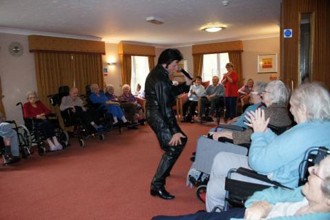 carehome entertainment