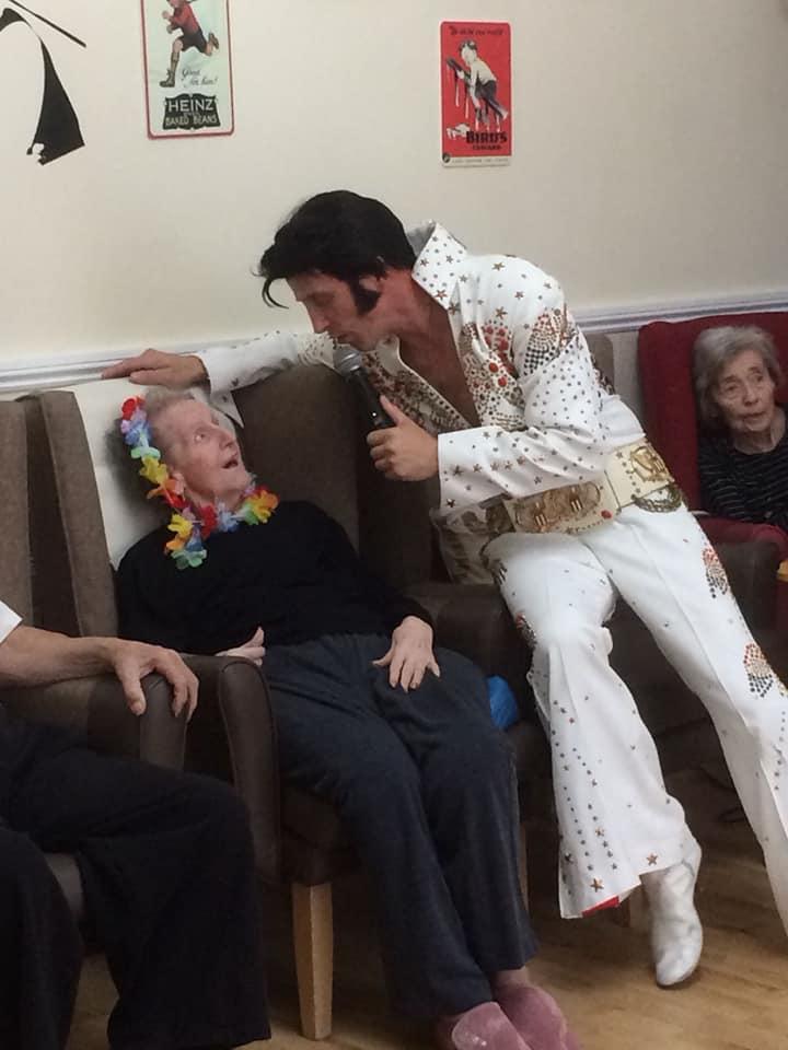 elvis impersonator nursing home