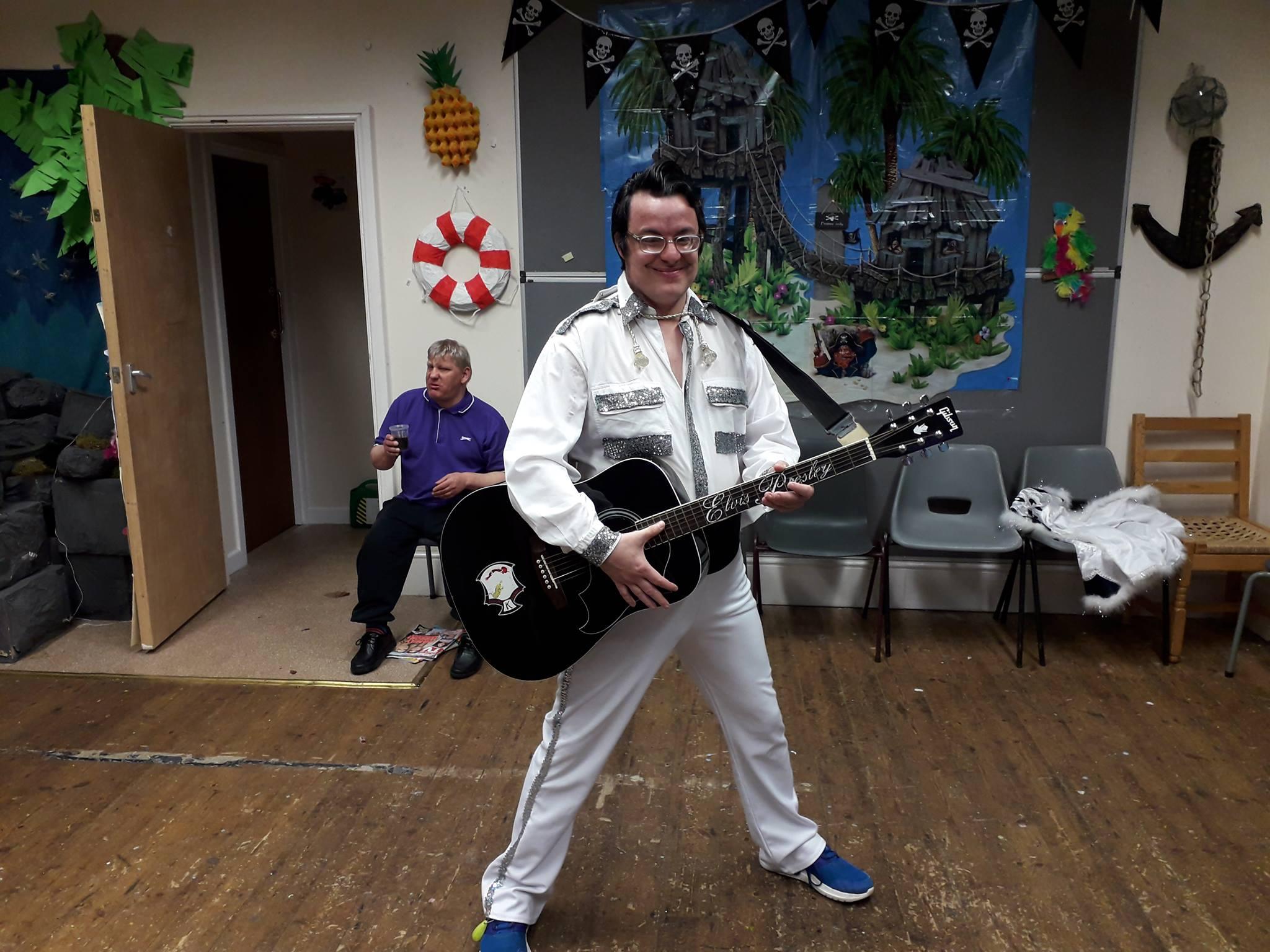 Music show Elvis Adults Handicap MENCAP