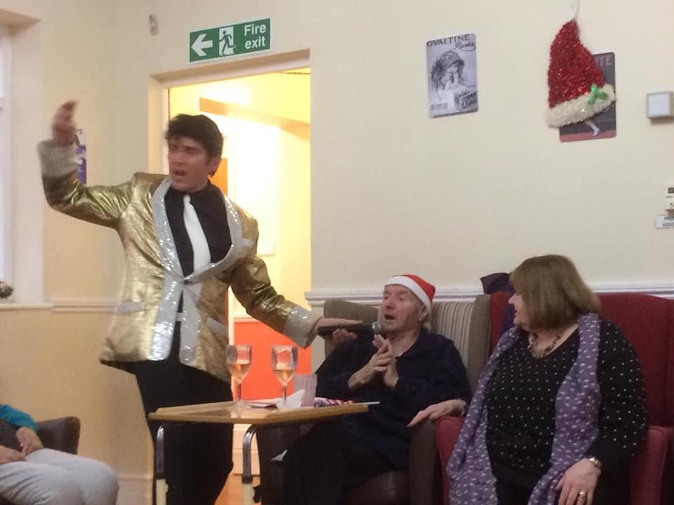 elvis sing elderly care
