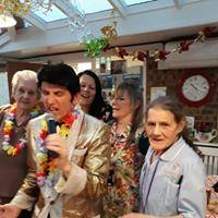 Elvis is in the building nursing home kent
