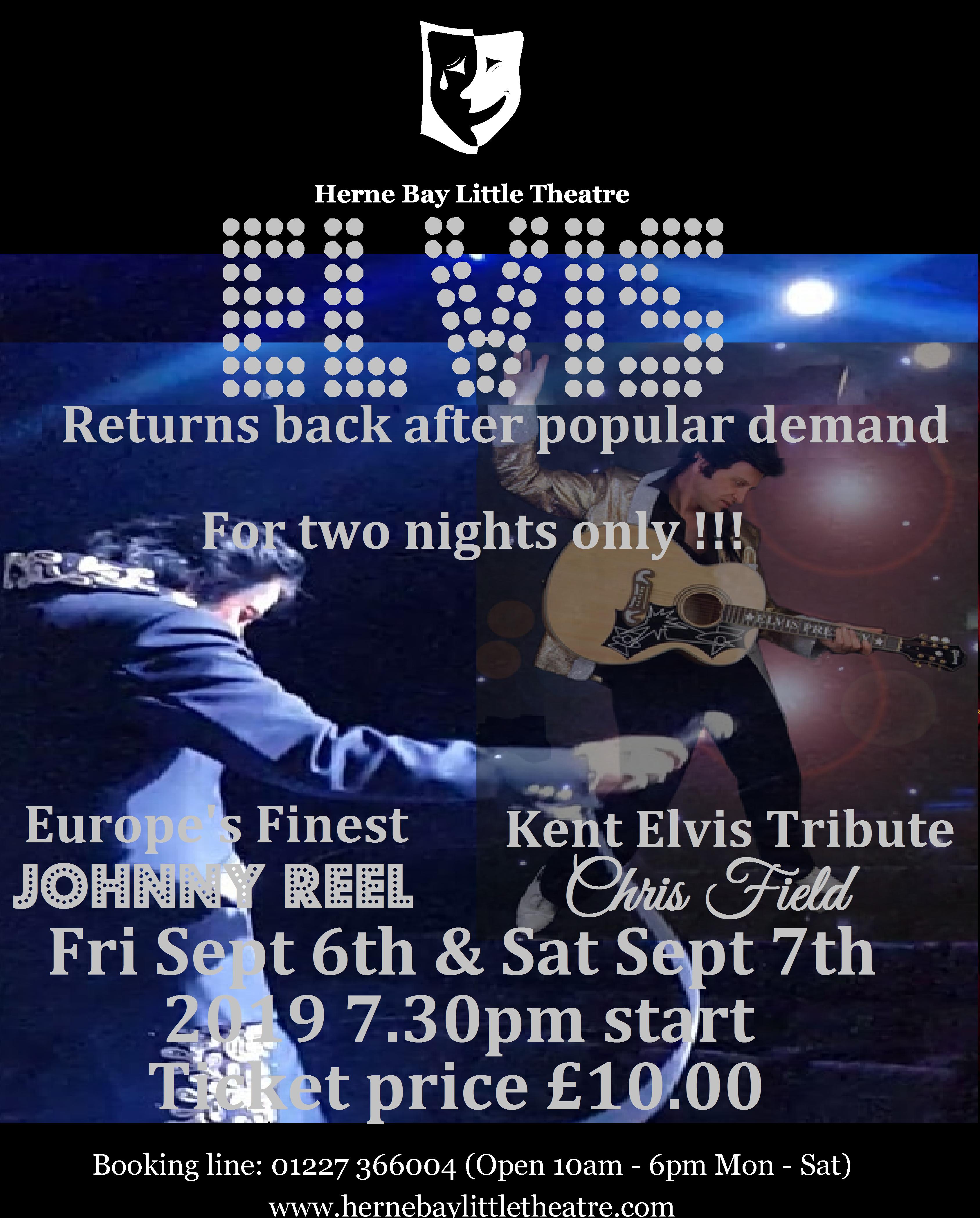 Elvis Tribute show in kent