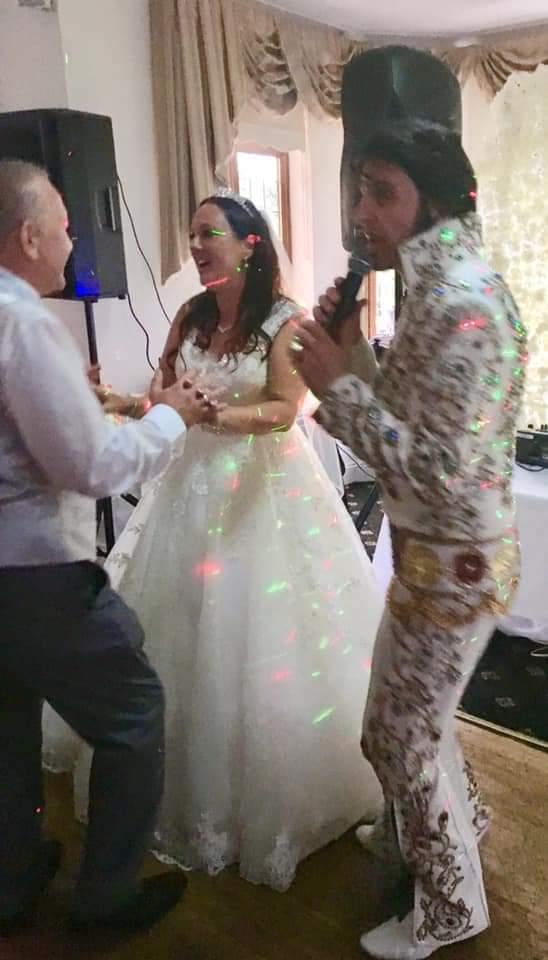 elvis wedding essex brentwood